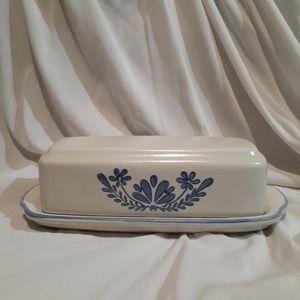 Vintage pfaltzgraff Stoneware butterdish